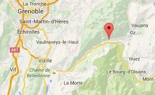 La jeune femme a été retrouvée au bord de la cascade du Bâton, en Isère.