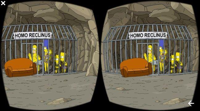 Les simpson en r alit virtuelle interactive pour leur 600e pisode - Les simpsontv ...