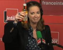 Charline Vanhoenacker sur France Inter le lundi 16 novembre 2015