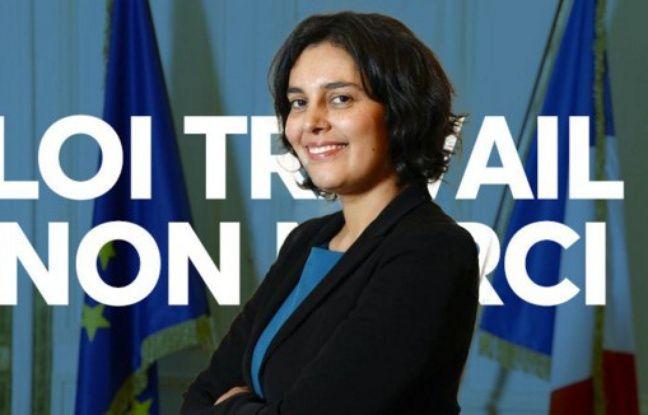 Les internautes se mobilisent contre la réforme portée par la ministre du Travail Myriam El Khomri.