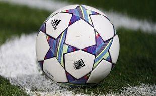 Un ballon de football. (Illustration).