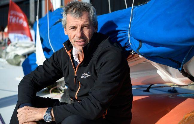 Sébastien Destremau prépare depuis chez lui le Vendée Globe 2020.