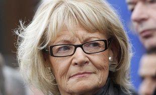Hélène Mandroux, maire de Montpellier, le 12 novembre 2011.