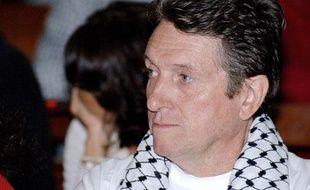 Gerard Jodar, président du syndicat indépendantiste USTKE, pendant son procès en appel à nouméa, le 25 août 2009.