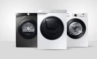 Profitez des promotions sur les deux modèles phares de lave-linge et sèche-linge Samsung chez Darty