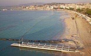 La ville de Cannes compte 7,6km de plages