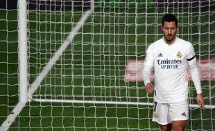 Eden Hazard a repris l'entraînement collectif après sa blessure à la cuisse le 28 novembre dernier.