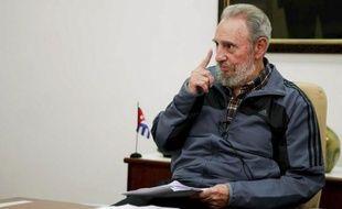 Fidel Castro est apparu à la télévision cubaine lundi 12juillet 2010.