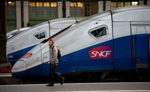 Des TGV à la Gare de Lyon, à Paris.