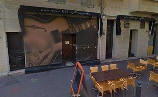 La discothèque Le Son des Guitares,  à Marseille.