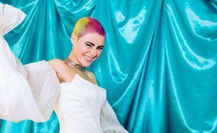 La chanteuse Montaigne, représentante de l'Australie à l'Eurovision 2021.