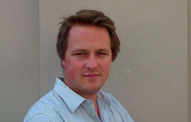 Geoffroy Lejeune, rédacteur en chef adjoint du service politique à «Valeurs actuelles», le 21 août 2013.