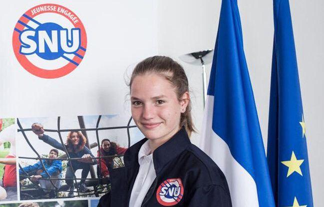 Margaux,15 ans, l'une des premières à tester le SNU.