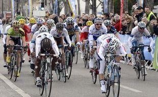 Les peloton du grand Prix La Marseillaise, le 27 janvier 2013.