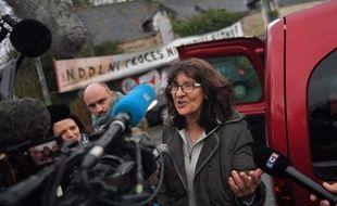 Françoise Verchère, figure de la lutte anti-aéroport.