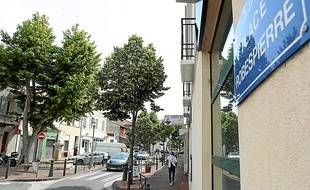 La place Robespierre est nommée ainsi depuis 1926.
