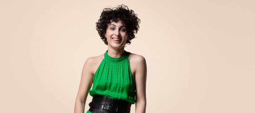 L'autrice, compositrice et interprète Barbara Pravi, représentante de la France à l'Eurovision 2021.