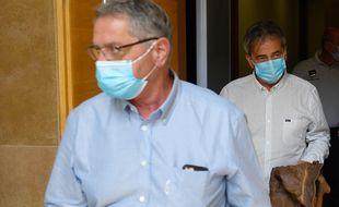 Les deux pilotes impliqués dans l'affaire Air Cocaïne lors du procès en appel