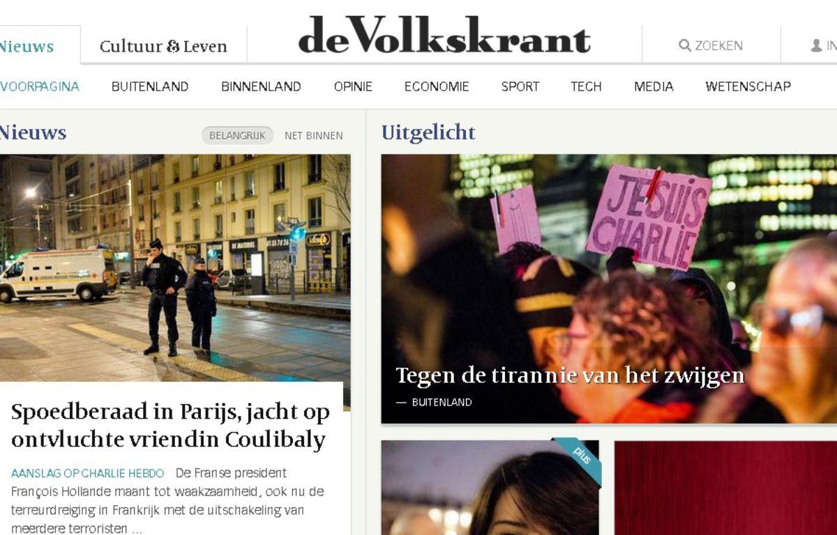 Capture d'écran du site http://www.volkskrant.nl/ – http://www.volkskrant.nl/