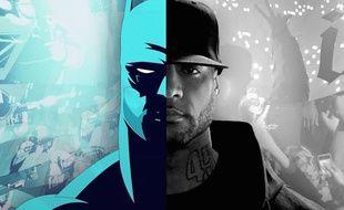 Extrait du clip «Gotham» de Booba, hommage au super-héros Batman