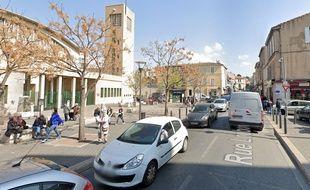 La place Caffo, dans le quartier de la Belle-de-Mai, à Marseille (illustration).