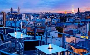 Vue imprenable depuis le 43 Up On The Roof