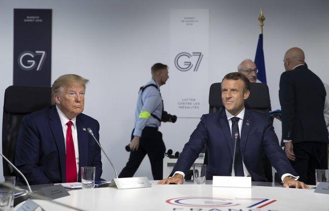 Conférence Macron-Trump au G7 EN DIRECT: Emmanuel Macron et Donald Trump attendus pour dresser le bilan du G7