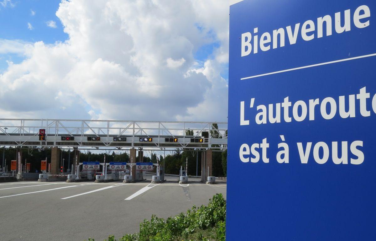 """Le """"petit"""" péage de L'Union, le plus cher de France selon ses détracteurs. – B. Colin / 20 Minutes"""