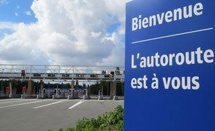"""Le """"petit"""" péage de L'Union, le plus cher de France selon ses détracteurs."""