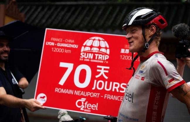 Romain Neauport a fini huitième (sur 60) du Sun Trip