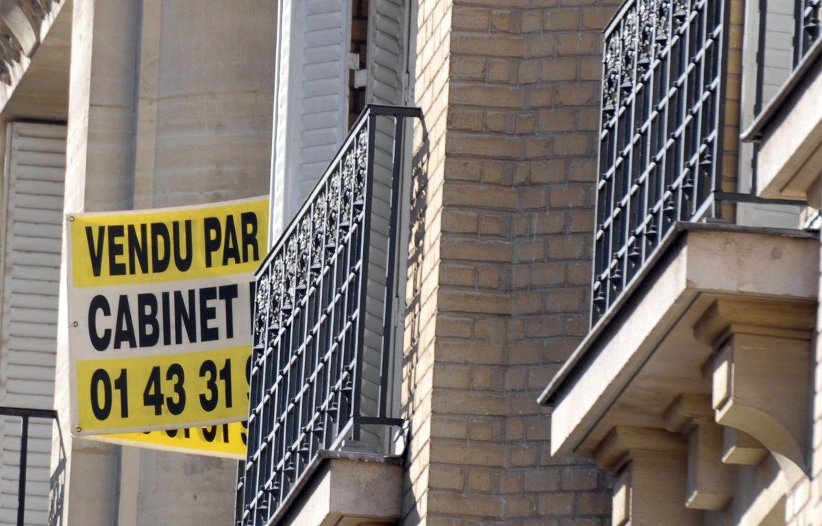 Le marché immobilier de l'ancien en France a connu une année 2016 exceptionnelle avec de gros volumes de ventes. – ERIC PIERMONT / AFP