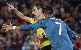 Cristiano Ronaldo a été expulsé dimanche soir au Camp Nou