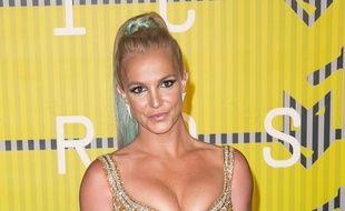La chanteuse Britney Spears aux MTV Video Music Awards à Los Angeles
