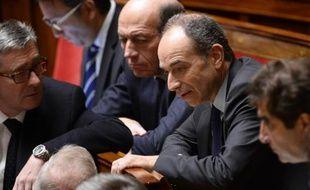 Le député UMP Jean-François Copé à l'Assemblée Nationale, le 3 février 2015