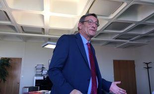 Le président de l'Eurométropole, Robert Herrmann, le 18 juin 2019.