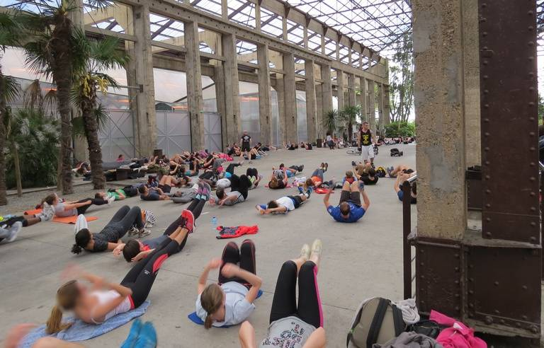 Nantes Le Gros Succes De Body Art L Association Qui Fait De Vous Un Veritable Athlete De Rue