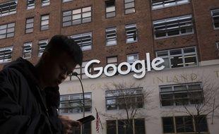 Les locaux de Google à New York (image d'illustration).