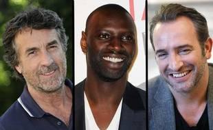 François Cluzet, Omar Sy et Jean Dujardin sont en compétition dans la catégorie «meilleur acteur» aux César 2012.