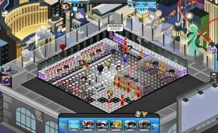 Le jeu « Nightclub City », disponible sur Facebook, permet de gérer son club virtuel.
