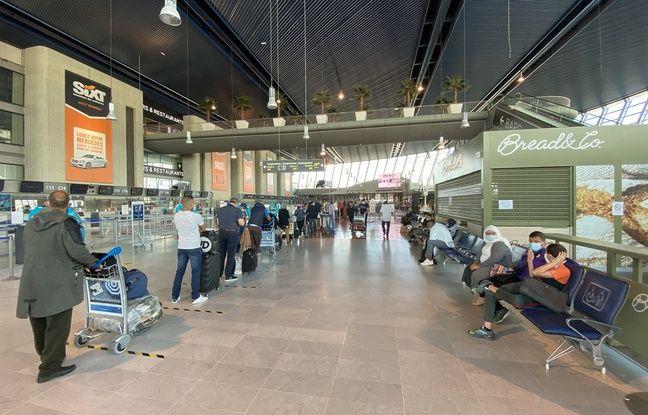 L'aéroport n'accueille que 500 passagers par jour en ce moment