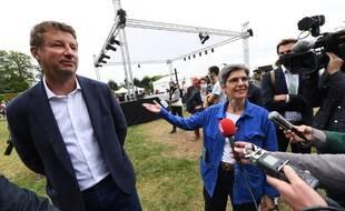 Yannick Jadot et Sandrine Rousseau.
