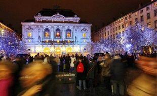 Un million de personnes sont attendues ce soir dans les rues de Lyon.