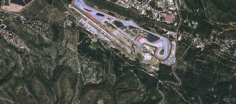 Le circuit du Castellet, dans le Var.