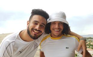 Nordine Salhi et Karim Jebli sont à l'origine de la websérie Les Déguns
