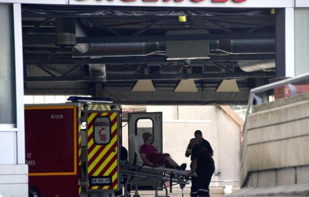 Entrée du service des urgences de l'hôpital Purpan à Toulouse, en 2011 – Pascal Pavani AFP