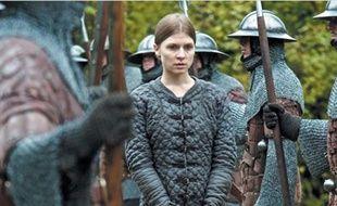 Clémence Poesy dans le rôle de Jeanne d'Arc, dans le film «Jeanne Captive» de Philippe Ramos