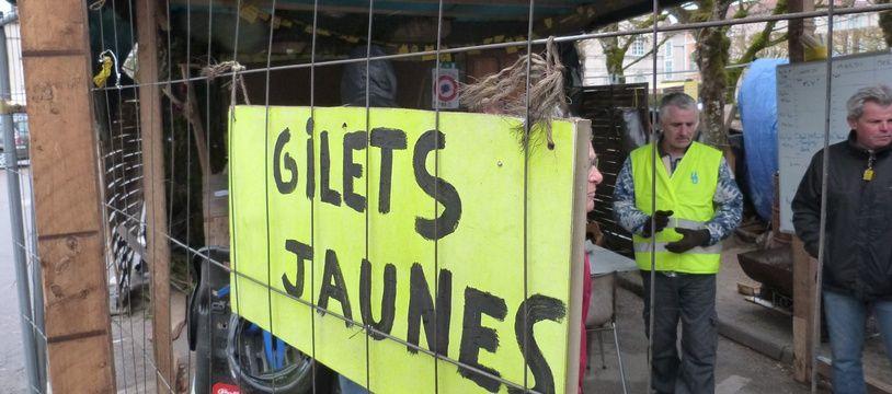 La Cabane des «gilets jaunes» à Commercy.