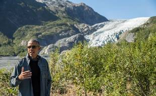 Barack Obama en Alaska le 1er septembre 2015.