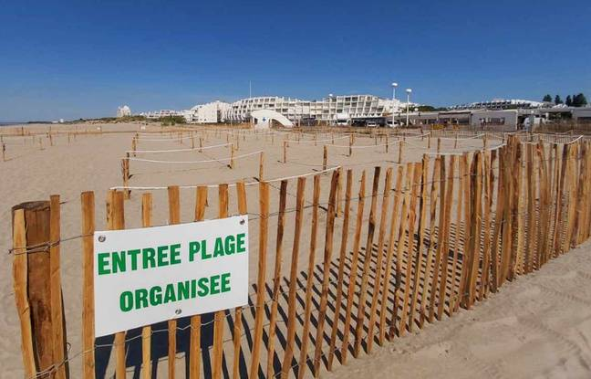 Déconfinement à Montpellier: Les trésors d'ingéniosité à La Grande Motte pour autoriser le bronzage à la plage