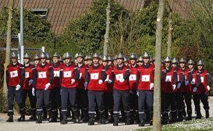 Des pompiers du département du Nord.